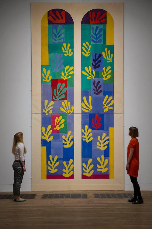 Henri Matisse Cut-outs Tate Modern London