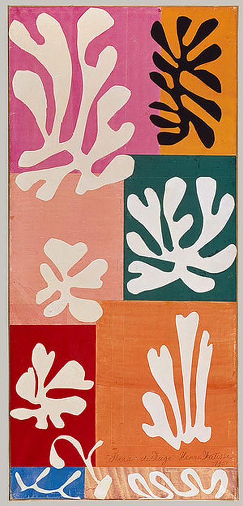 Matisse, Snow Flowers, 1951