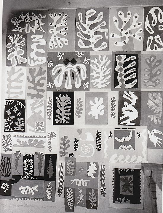 Matisse studio, Vence, May 1948