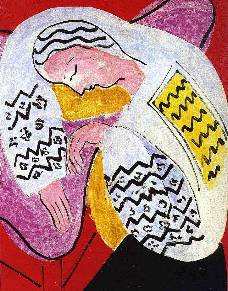 Matisse, The Dream, 1940