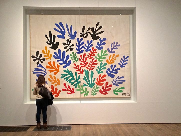Matisse, The Sheaf, 1953 (photo Sue Lowry)