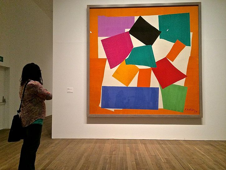 Matisse, The Snail (photo Sue Lowry)