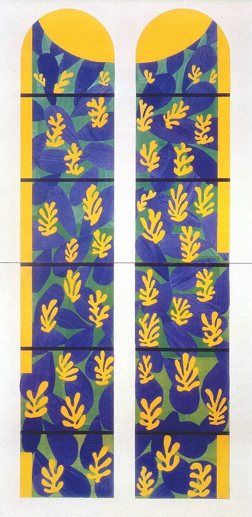 Matisse, The Tree of Life (maquette), 1949