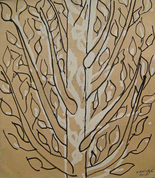 Matisse, Tree, 1951