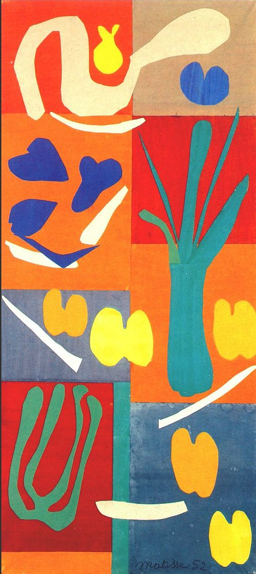 Painting With Scissors Matisse S Cut Outs At Tate Modern