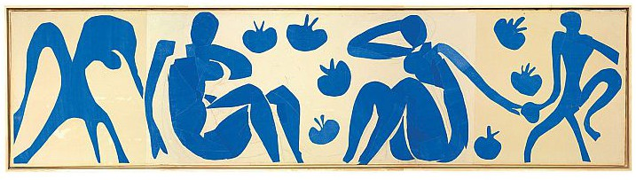 Matisse, Woman with Monkeys, 1952