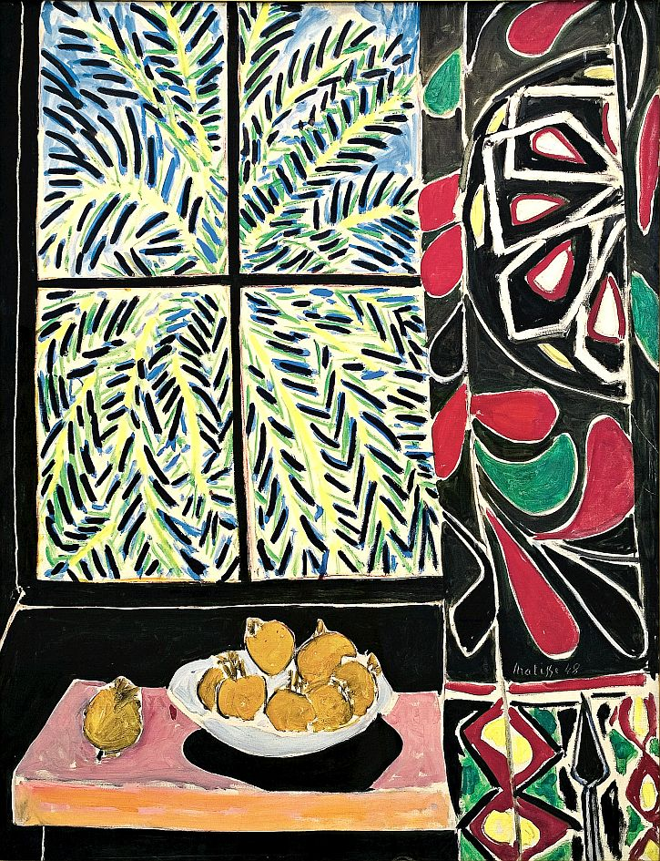 Matisse,Interior with an Egyptian Curtain 1948