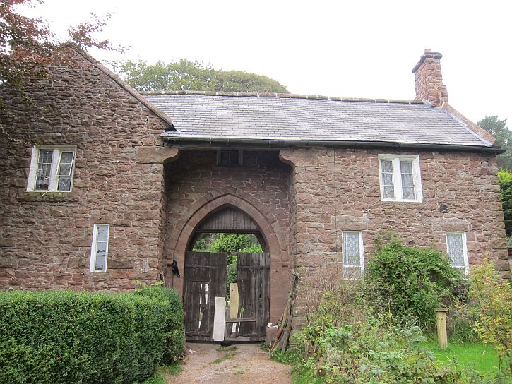 Peckforton estate gatehouse