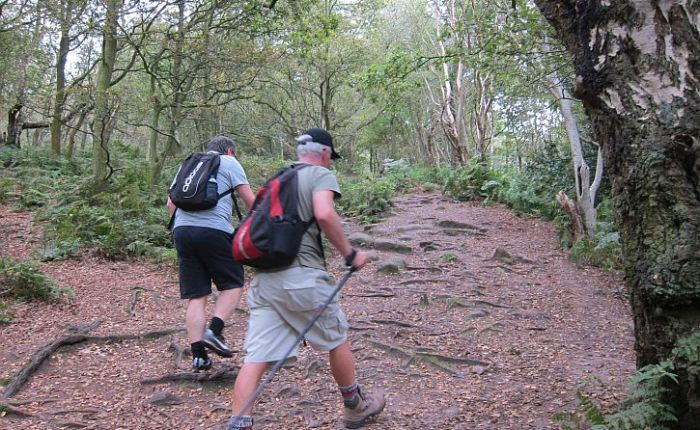 Walking the Sandstone trail: three characters in conversation
