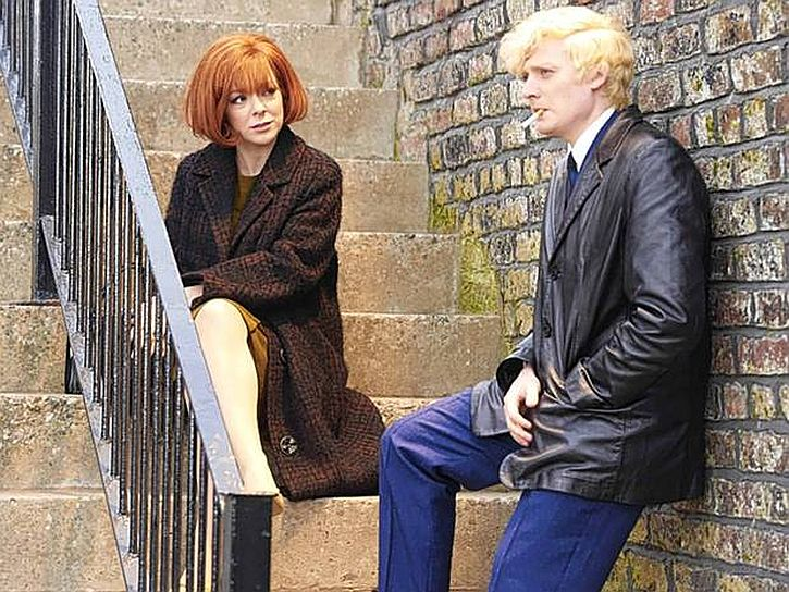 Sheriden Smith and Aneurin in Cilla