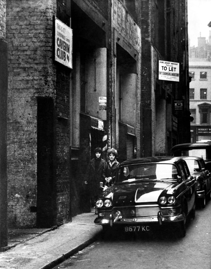 The Cavern Club in Mathew Street, December 1963