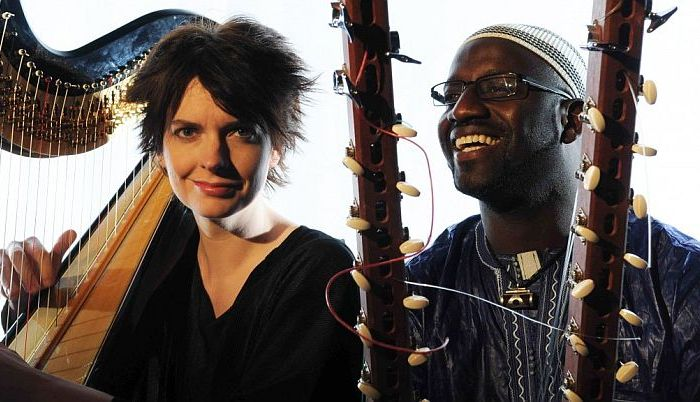 Catrin Finch and Seckou Keita braid tales of Wales and Senegal
