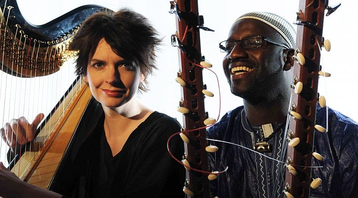 Catrin Finch and Seckou Keita (photo: Josh-Pulman)