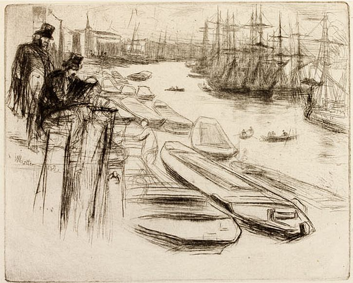 James McNeill Whistler, 'The Little Pool'