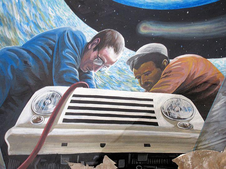Mick Jones Mural 7
