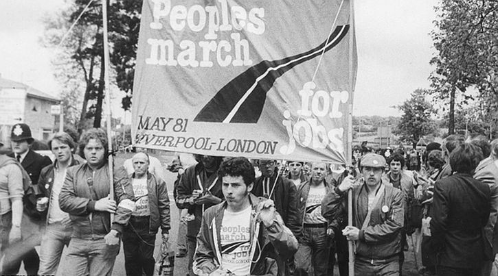 Peoples March for Jobs 1981