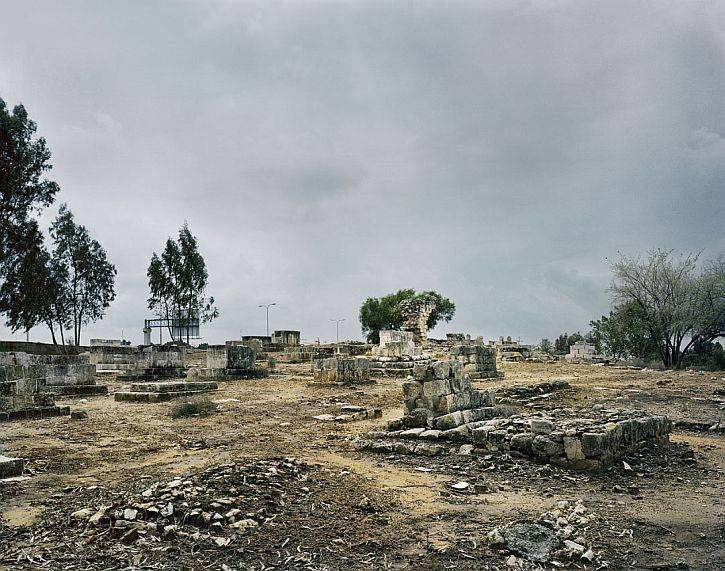 Remains of Palestinian buildings in al-Ramle today (photo James Morris, That Still Remains)