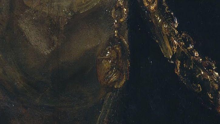 Rembrandt, Aristotle Contemplating the Bust of Homer, 1653 detail Alexander