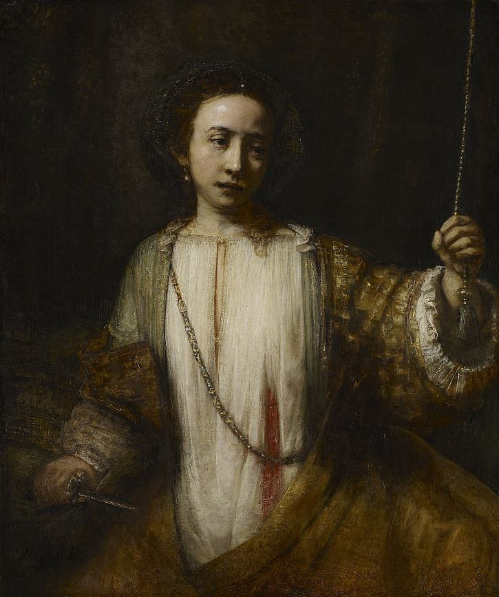Rembrandt Lucretia 1666