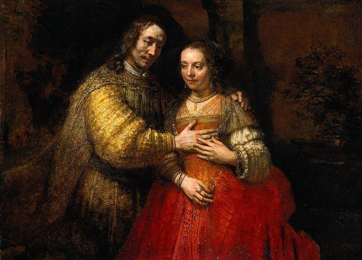 Rembrandt The Jewish Bride