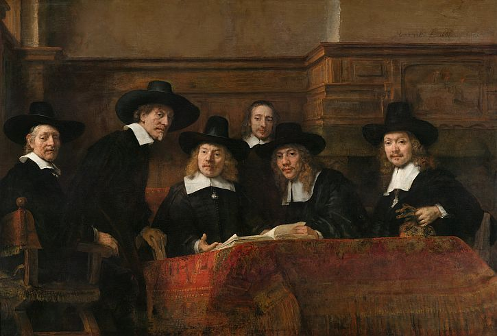 Rembrandt, The Syndics,1662