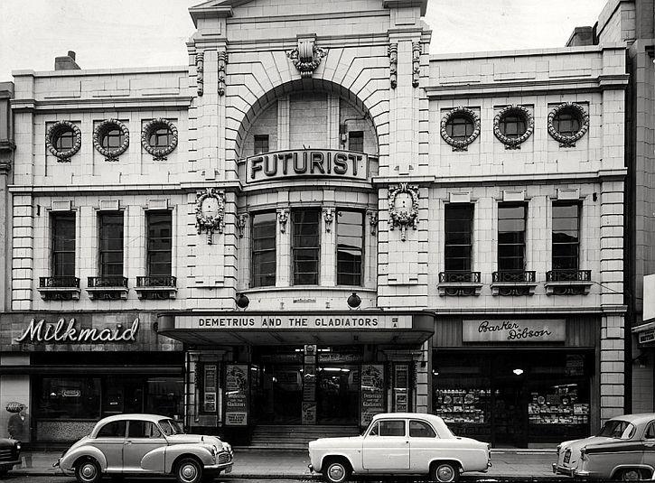 The Futurist in 1954