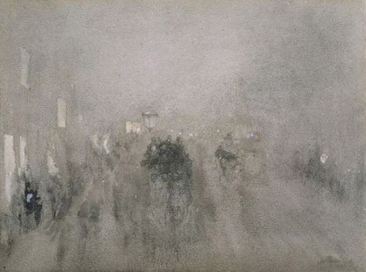 Whistler, Nocturne in Grey and Gold - Piccadilly, 1881-3