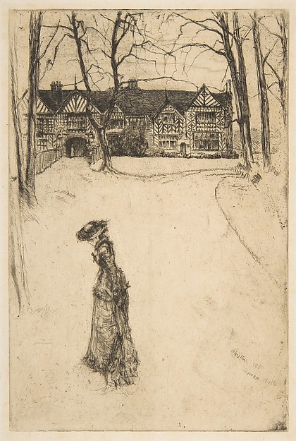 Whistler, Speke Hall, No. 1