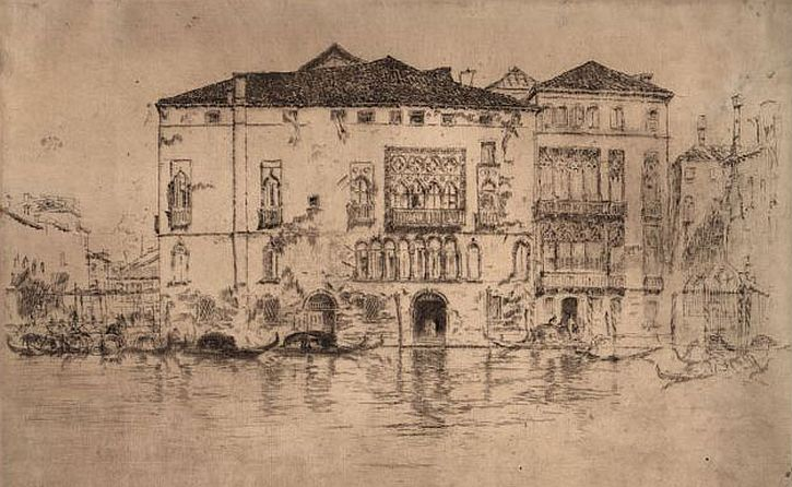 Whistler, The Palaces, Venice