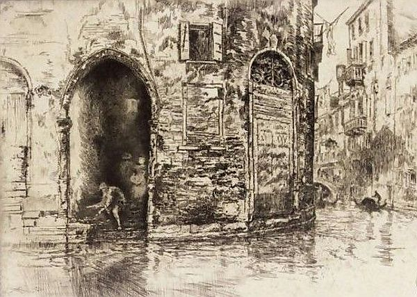 Whistler Two Doorways, 1880