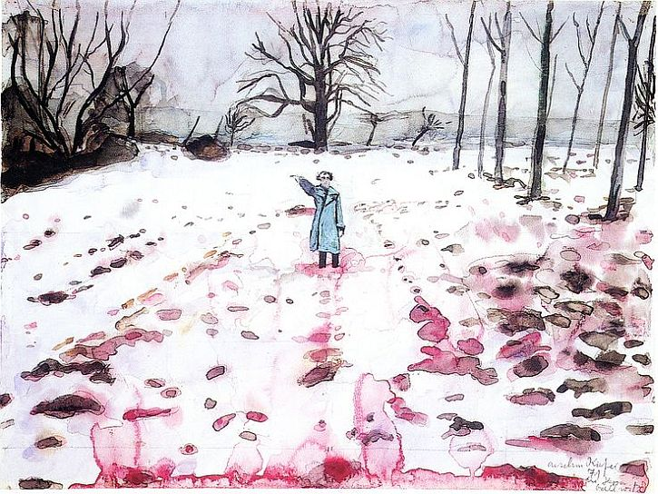 Anself Kiefer, Ice and Blood, 1971