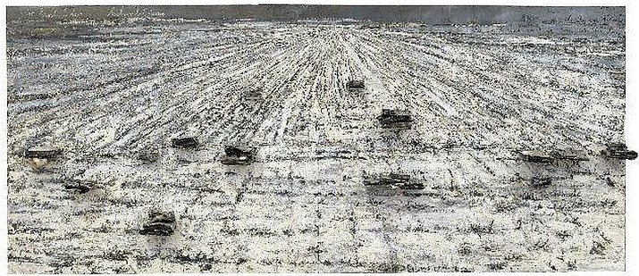 Anselm Kiefer. For Paul Celan, Ash Flowers, 2006