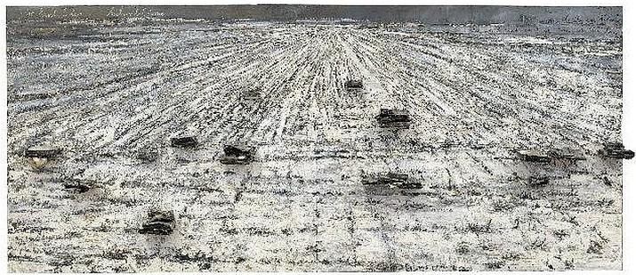 Anselm Kiefer. For Paul Celan, Ash Flowers, 2006