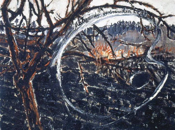 Anselm Kiefer, Painting of the Scorched Earth, 1974