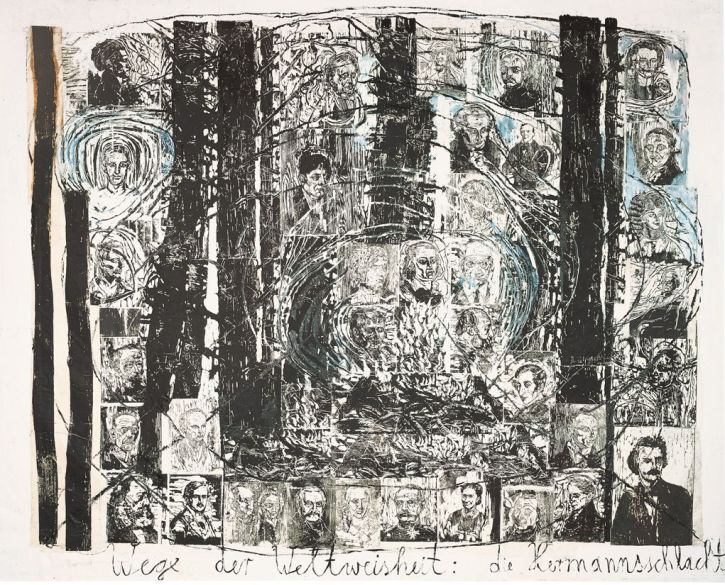 Anselm Kiefer, The Paths of World Wisdom Hermann's Battle (1980)