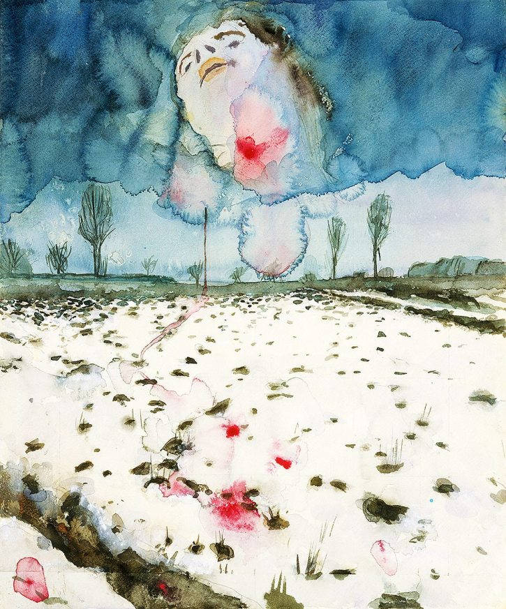 Anselm Kiefer, Winter Landscape (Winterlandschaft), 1970