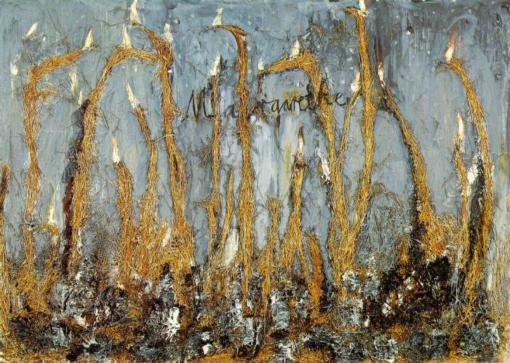Anselm Kiefer, Your Golden Hair, Margarete (1981)