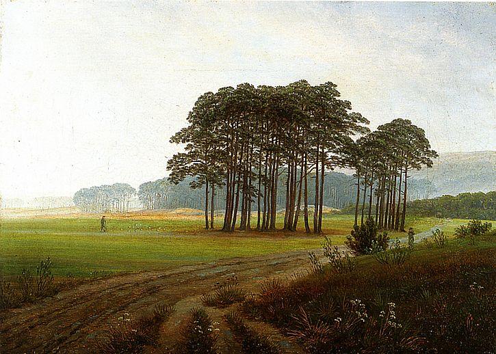 Casper David Friedrich, Der Mittag (Noon), 1821