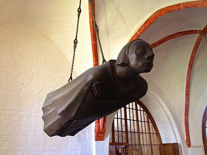Ernst Barlach, Hovering Angel, Güstrow cathedral