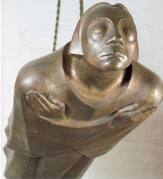 Ernst Barlach, The Floating One