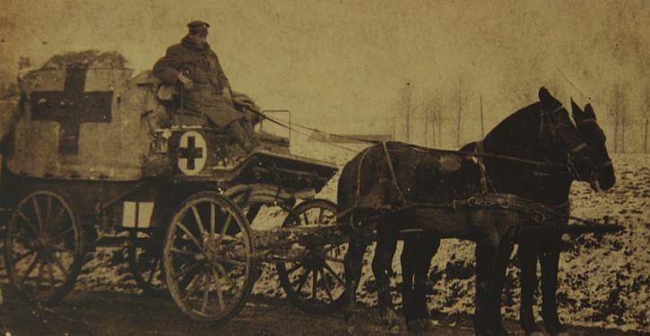 First World war wagoner