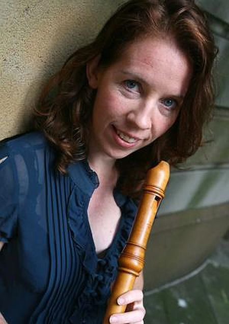 Recorder player Genevieve Lacey
