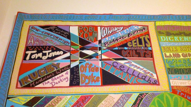 Grayson Perry, The Comfort Blanket detail 3