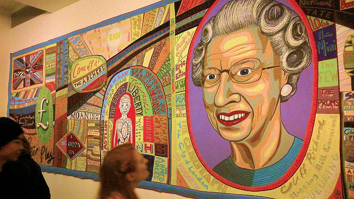 Grayson Perry, The Comfort Blanket