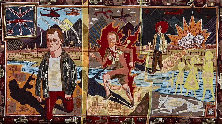 Grayson Perry Who Are You Line of Departure