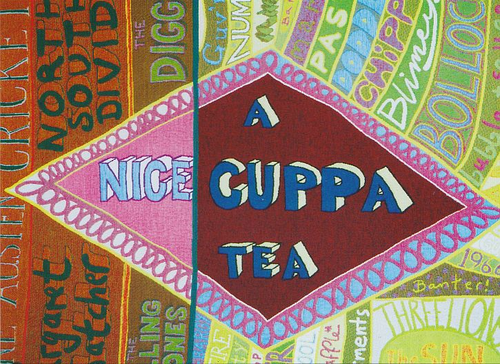 Grayson Perry Who Are You The comfort blanket detail 1