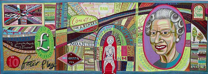Grayson Perry Who Are You The comfort blanket