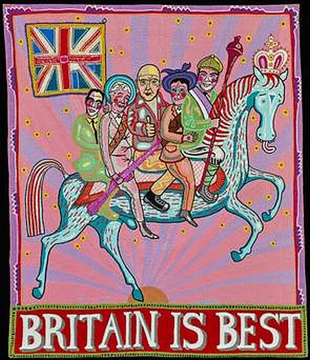 Grayson Perry Who Are You The Loyalist Banner