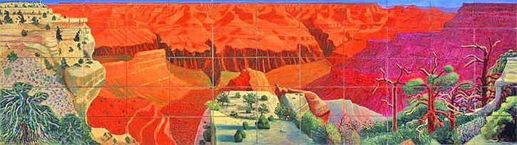 Hockney 'A Bigger Grand Canyon' 1998