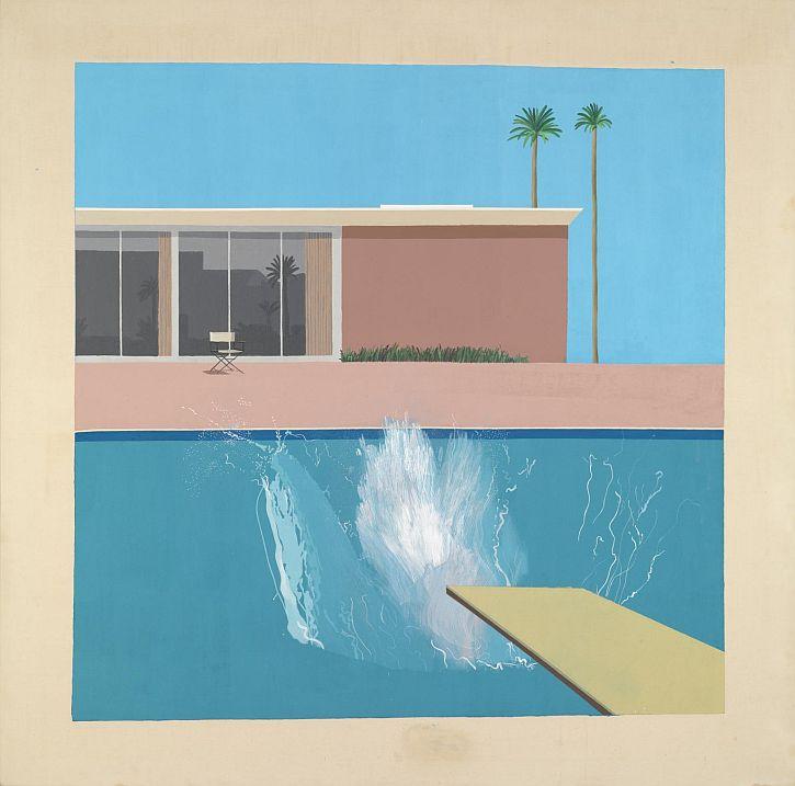 Hockney, A Bigger Splash, 1967
